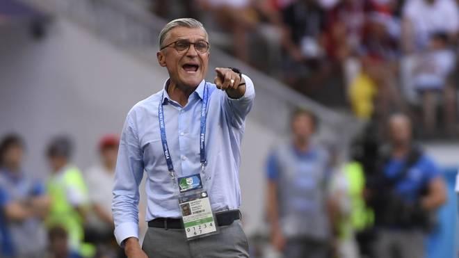 Adam Nawalka coachte Polen bei der WM zum letzten Mal