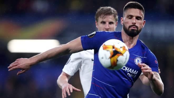 Olivier Giroud hat einen neuen Vertrag beim FC Chelsea unterschrieben