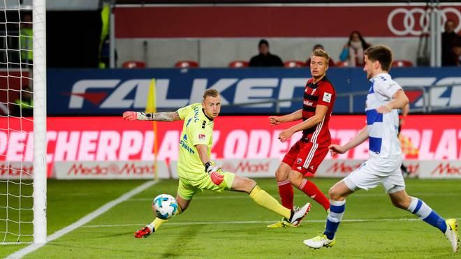Hauke Wahl brachte Ingolstadt mit 2:1 in Führung