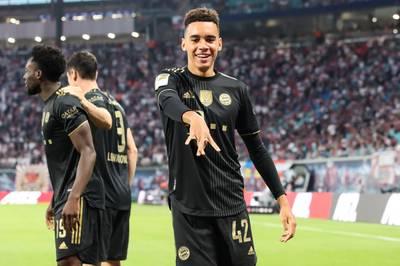 Jamal Musiala ist gegen RB Leipzig der entscheidende Mann. Der Teenager wird nach der Partie mit Lob überschüttet, bleibt aber demütig.