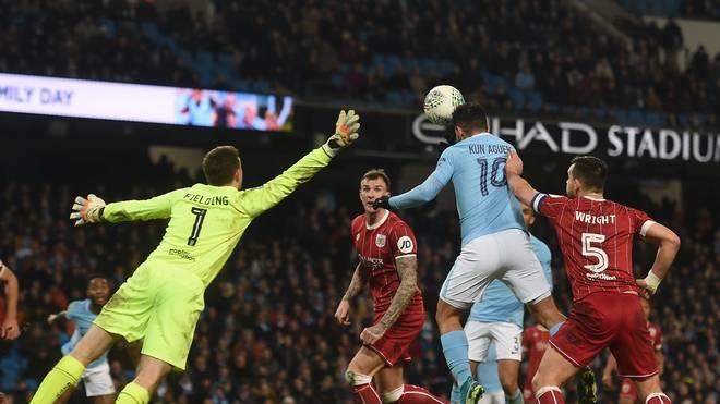 Sergio Agüero erzielte in der Nachspielzeit den Siegtreffer für Manchester City