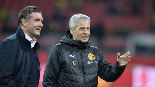 Michael Zorc plant auch über das Saisonende hinaus mit Lucien Favre als BVB-Trainer