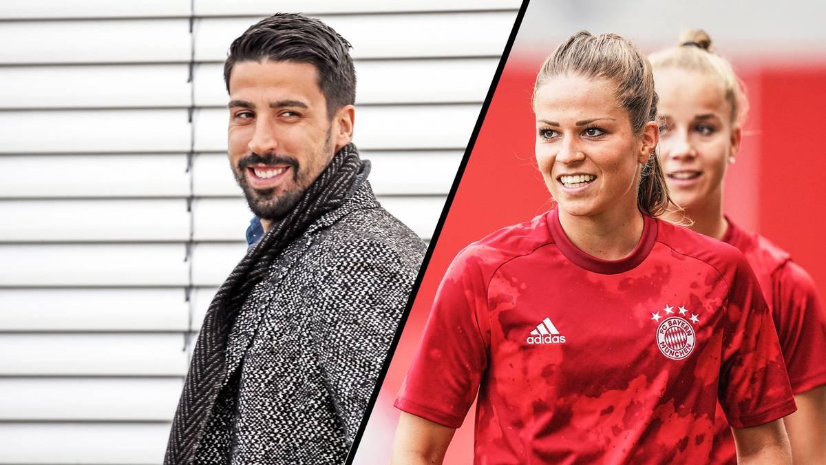 Gwinn-Mitspielerin Melanie Leupolz und Sami Khedira haben sich gefunden