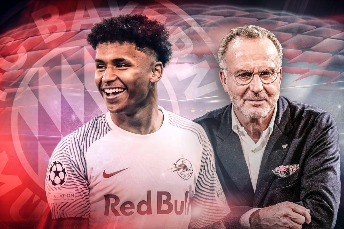 Karim Adeyemi ist in den Fokus des FC Bayern geraten. Nun äußert sich Karl-Heinz Rummenigge zum Shootingstar.