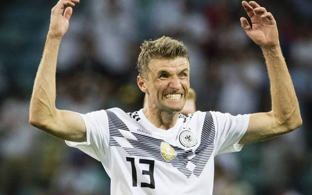 Thomas Müller fand gegen Mexiko und Schweden nicht zu gewohnter Form