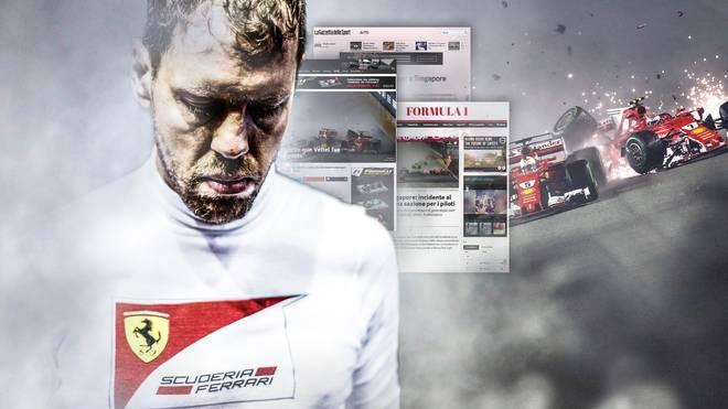 Sebastian Vettel und Ferrari erleben beim Großen Preis von Singapur ein Debakel