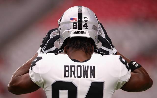 NFL: Antonio Brown von Oakland Raiders - erneute Helm-Klage gegen Liga