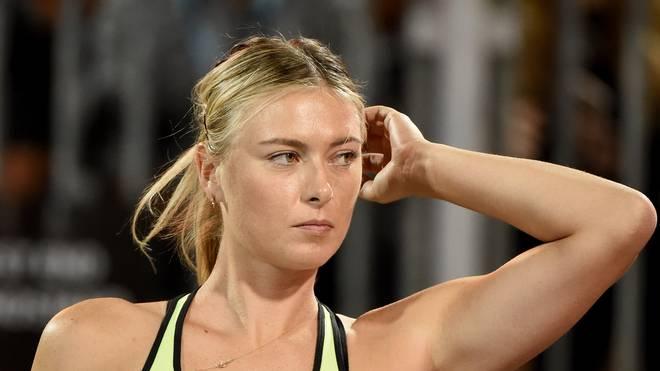 Maria Scharapowa gibt nach ihrer Dopingsperre ihr Comeback in Stuttgart