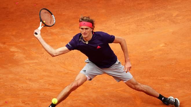 Alexander Zverev hat beim ATP-Turnier in Genf das Viertelfinale erreicht
