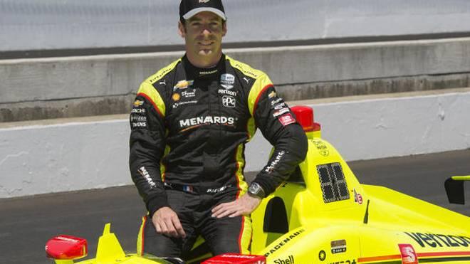 Penske-Pilot Simon Pagenaud ist der Polesetter beim Indy 500 2019