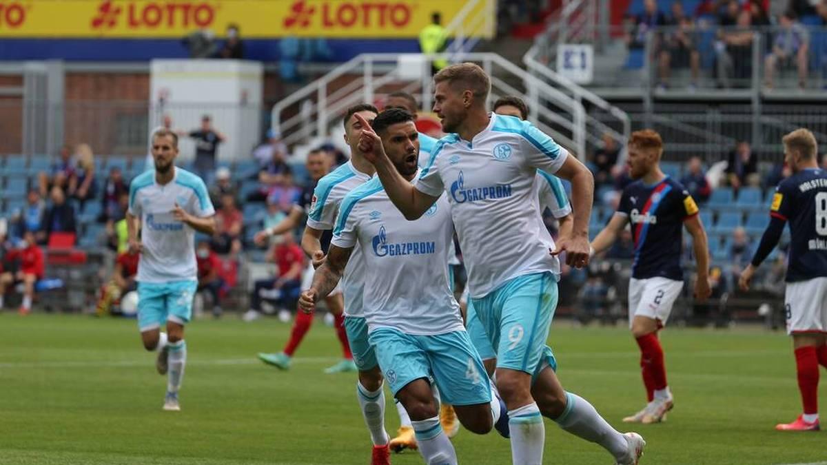 Schalke verhindert Fehlstart - HSV patzt gegen Aufsteiger