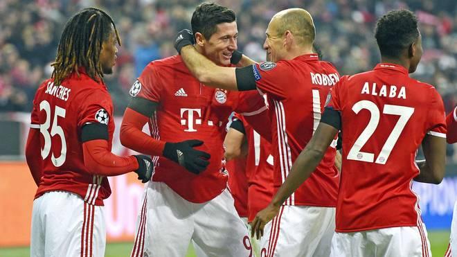 Neben Sanches und Alaba ist nun auch Robert Lewandowski bis 2021 an den FC Bayern gebunden - und Robben?