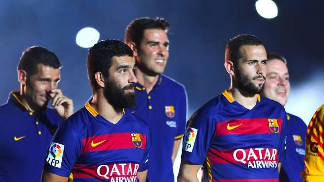 Arda Turan und Aleix Vidal sind für den FC Barcelona ab sofort spielberechtigt
