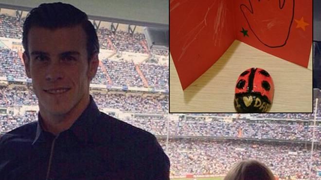 Gareth Bale ist mächtig stolz auf Töchterchen Alba.
