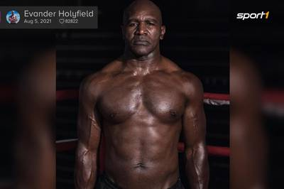 Irre Comeback-Form! So fit ist Holyfield mit 58