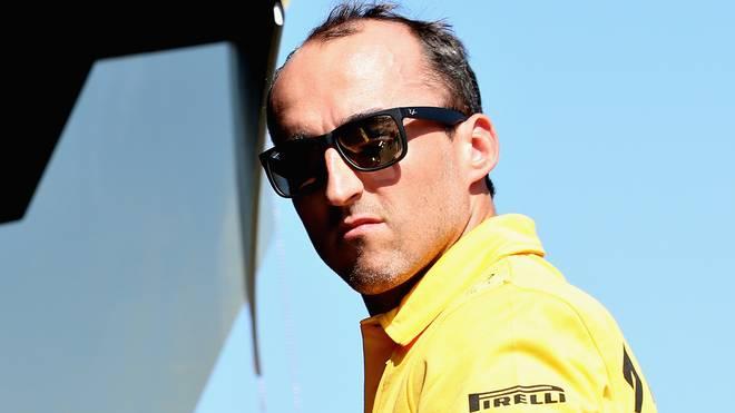 Robert Kubica ist 2018 wohl höchstens Testfahrer bei Williams