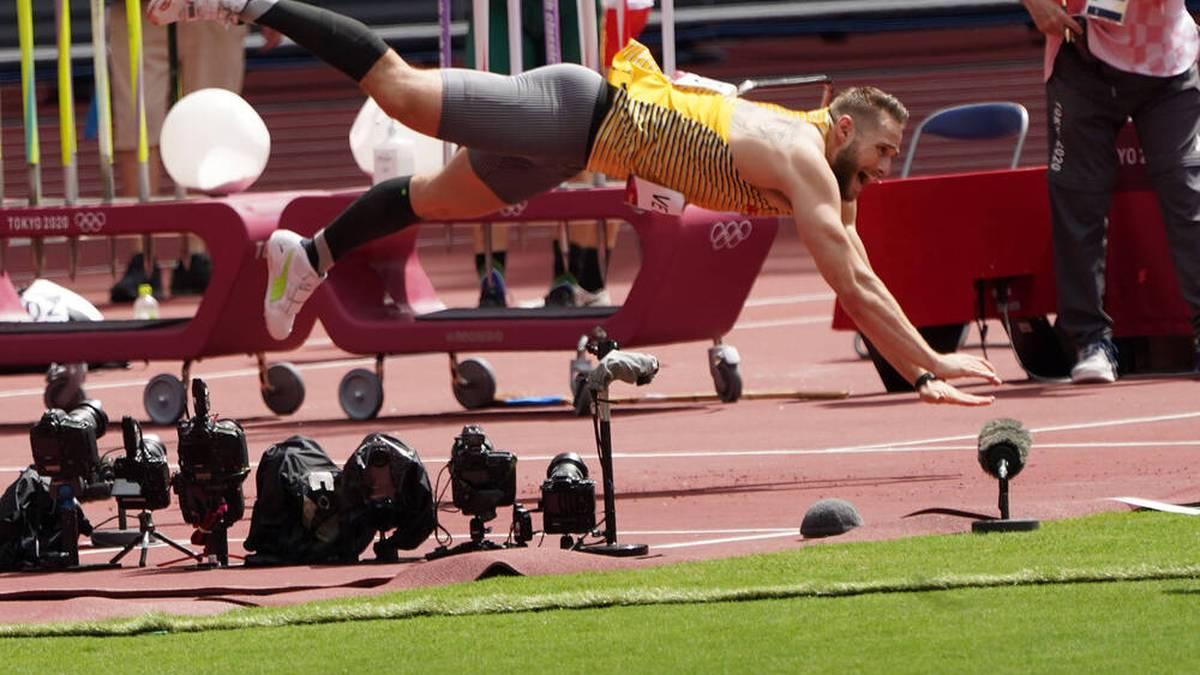 Johannes Vetter hat die Medaillenränge klar verpasst