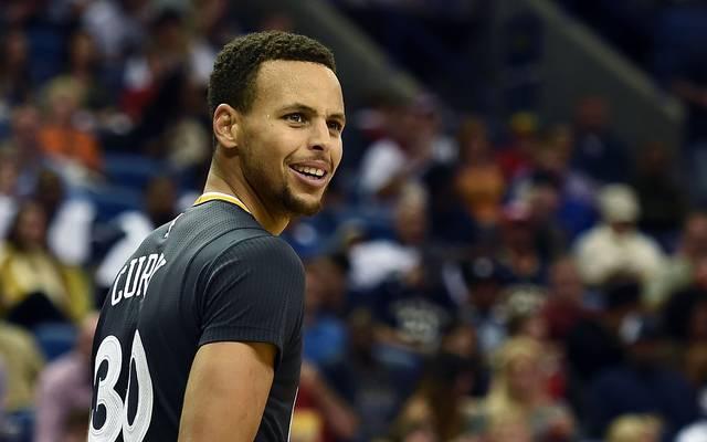 Stephen Curry fehlt den Golden State Warriors derzeit verletzt
