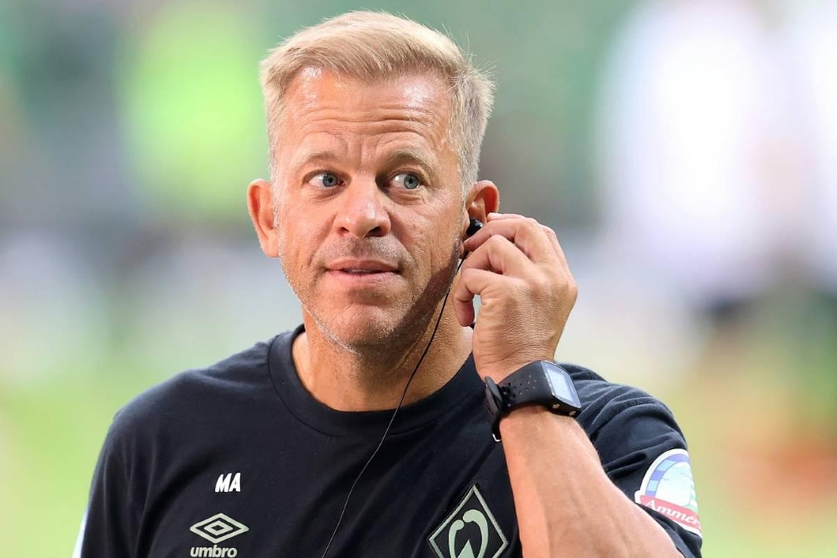 """Für Trainer Markus Anfang (47) ist der """"Fall Füllkrug"""" bei Bundesliga-Absteiger Werder Bremen beendet."""