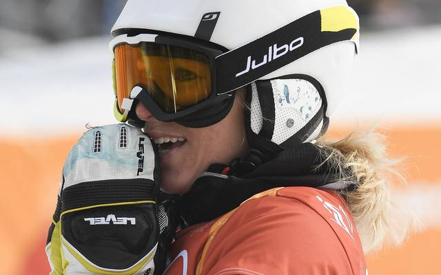 Selina Jörg war bei der Snowboard-WM nicht zu schlagen