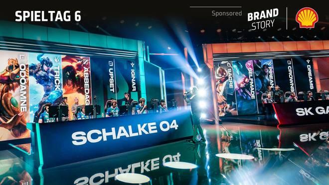Gemeinsam mit LEC-Sponsor Shell präsentiert SPORT1 das Recap des 6. Spieltags: Schalke weiter auf Europa-Kurs & G2 dominant wie nie