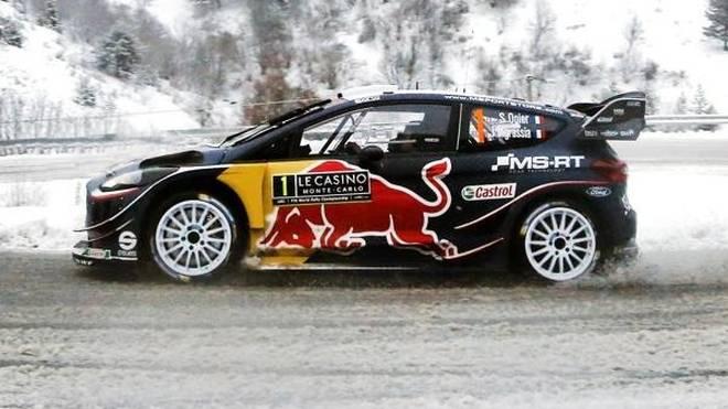 Sebastien Ogier hat bei der Rallye Monte Carlo alles im Griff