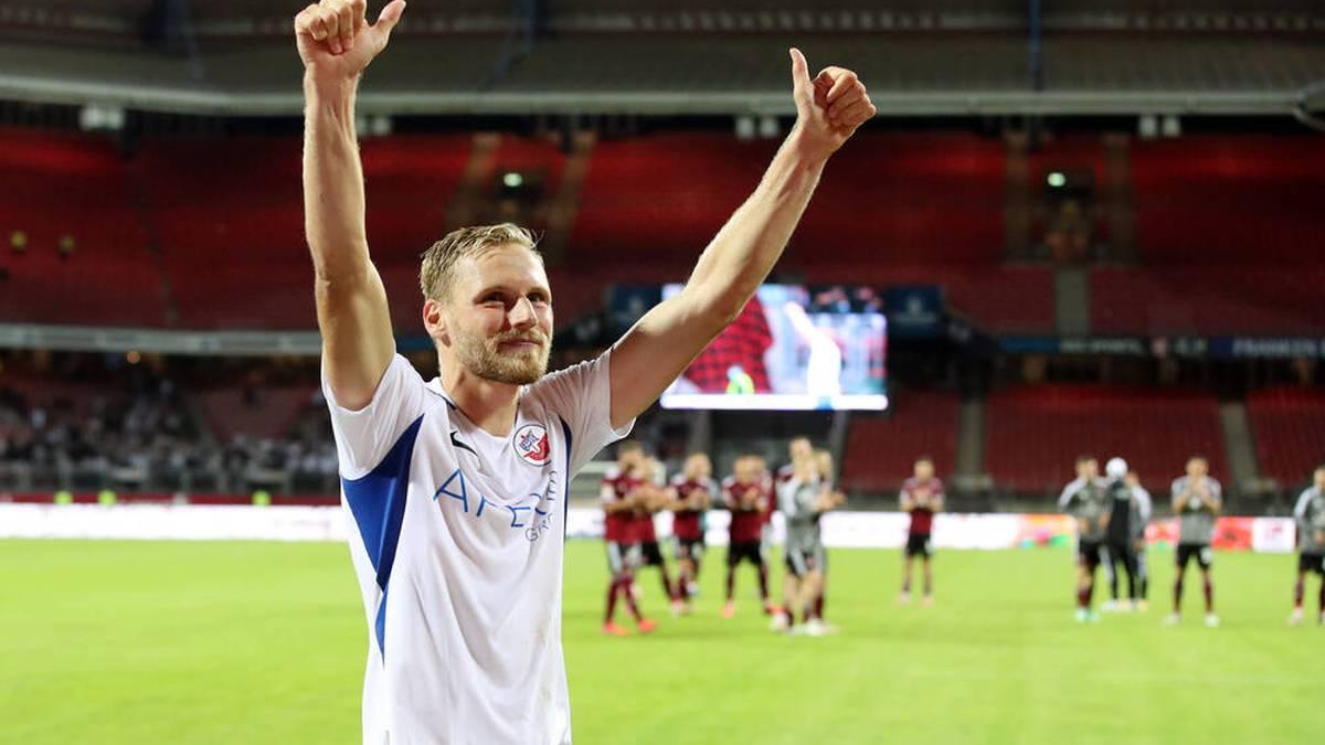 Hanno Behrens ist bei Hansa Rostock voll angekommen
