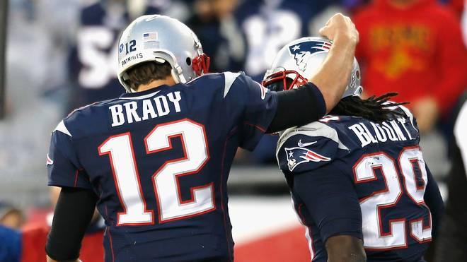 LeGarrette Blount (r.) gewann an der Seite von Tom Brady den Super Bowl
