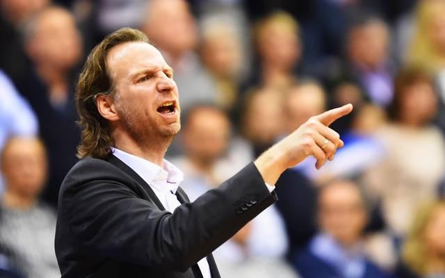Giessen-Trainer Ingo Freyer musste gegen den Mitteldeutschen BC eine überraschende Niederlage hinnehmen
