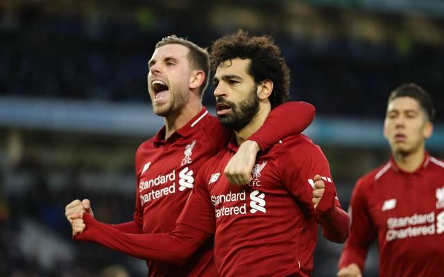 Mohamed Salah schoss Liverpool zum Sieg