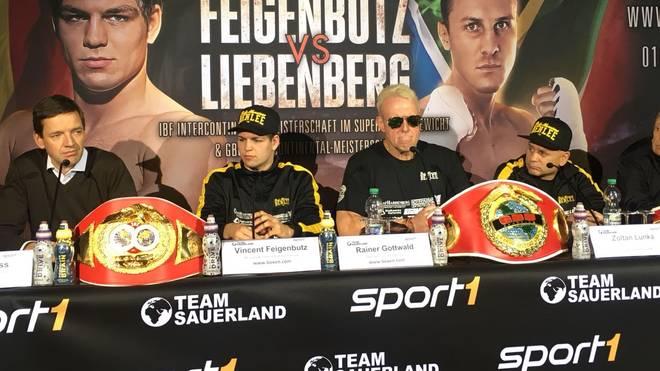 Vincent Feigenbutz stellt seinen neuen Trainer Zoltan Lunka vor