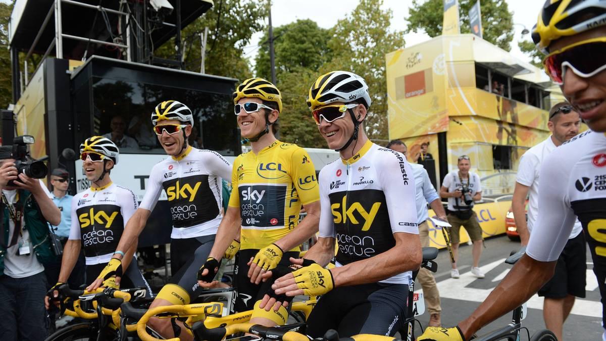 Das Team Sky drückte jahrelang der Tour de France seinen Stempel auf