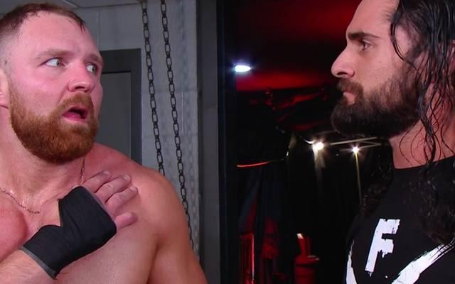 Dean Ambrose (l.) will Seth Rollins bei WWE plötzlich wieder helfen