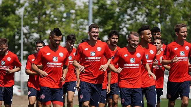Die Mainzer bereiten sich seit Montag auf die neue Saison vor
