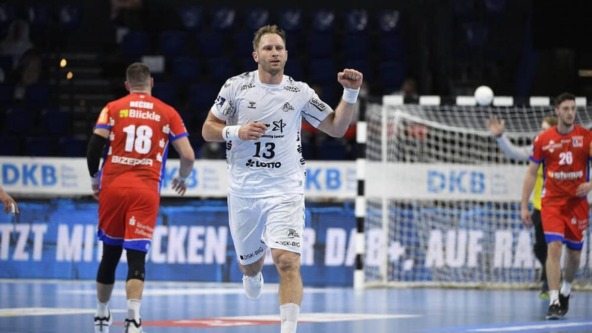 Steffen Weinhold will mit dem THW Kiel den Titel in der HBL verteidigen