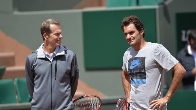 Roger Federer hat sich von seinem Coach Stefan Edberg getrennt