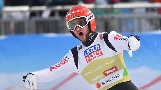 Sportler des Monats: Eisenbichler, Frenzel und Jörg Kandidaten für Februar Bei der Qualifikation vom Monsterbakken in Vikersund hat Markus Eisenbichler schon überzeugt