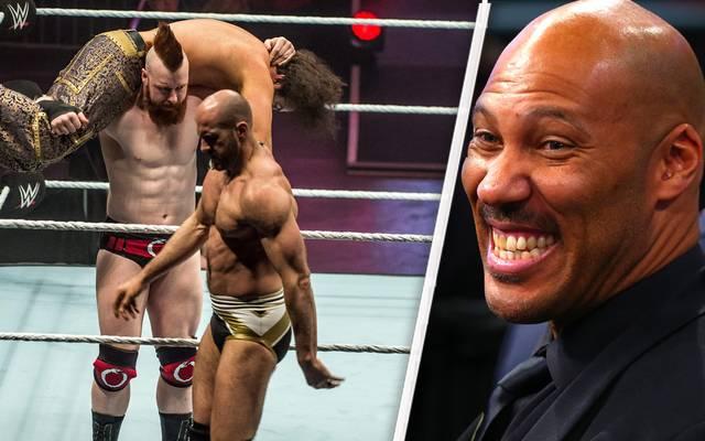 LaVar Ball (r.) verhandelt mit WWE über einen Auftritt bei Monday Night RAW