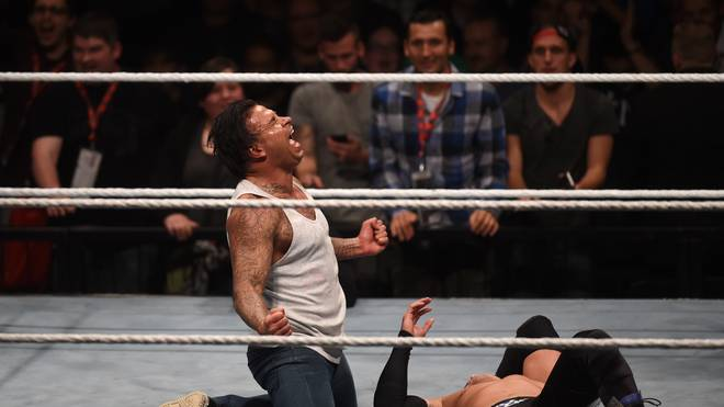 WRESTLING-WWE-GER