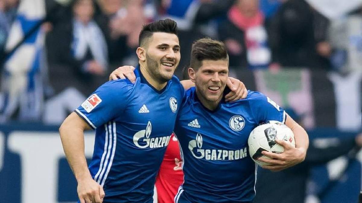 Kehrt nach Sead Kolasinac (l.) auch Klaas-Jan Huntelaar zurück zu Schalke 04