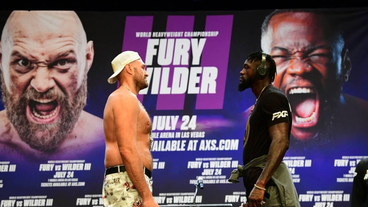 Kampf zwischen Fury und Wilder steht vor der Absage