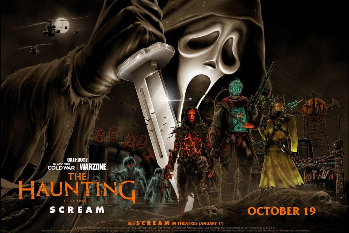 Mit dem Haunting Halloween Event bekommt Warzone drei frische Operator-Skins verpasst. Aber wie kann man sich die Skins von Scream, Ghost of War und Donnie Darko sichern?