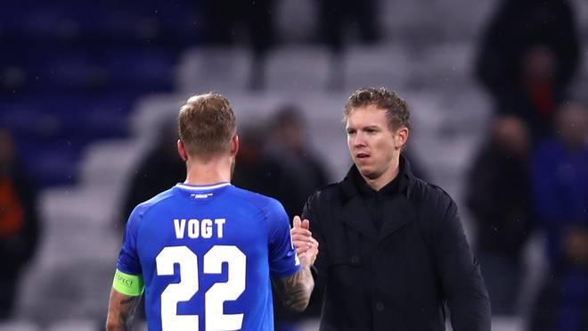 Julian Nagelsmann verzichtet beim Champions-League-Spiel gegen ManCity auf Kapitän Kevin Vogt