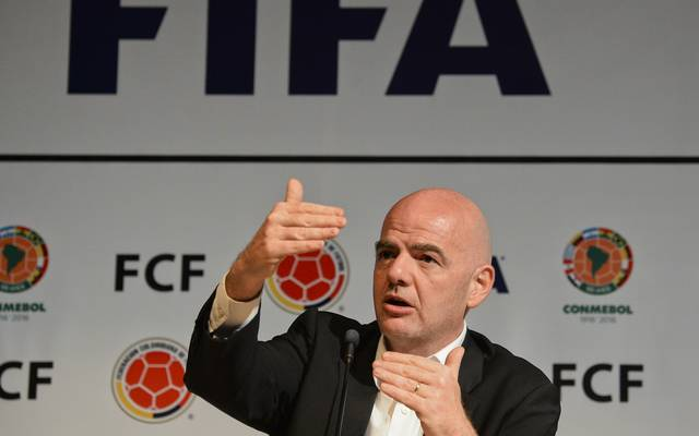 FBL-COLOMBIA-FIFA-INFANTINO