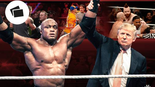 Prominente Auftritte beim Wrestling