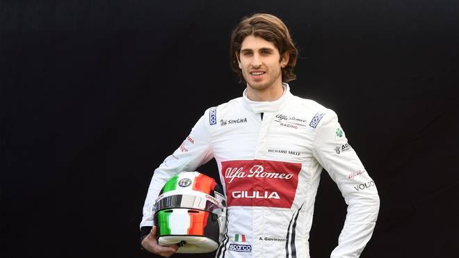 Antonio Giovinazzi debütierte 2017 in der Formel 1