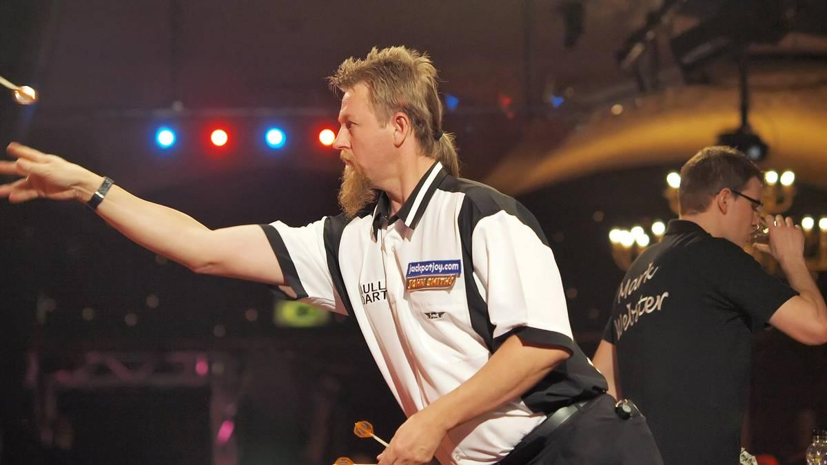 Simon Whitlock traf im Finale der BDO-WM 2008 auf Mark Webster