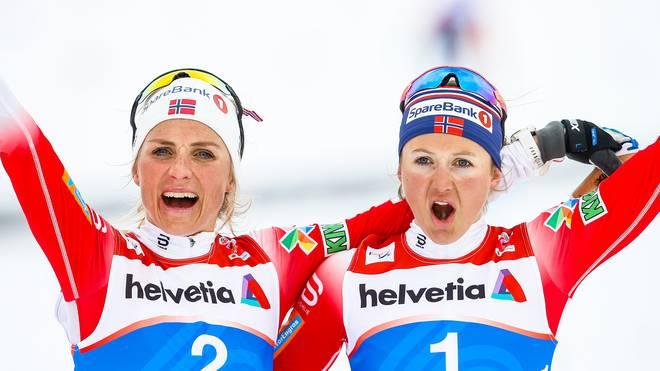 FIS Nordic World Ski Championships - Women's Cross Country Mass Start Im Medaillenspiegel dominiert Norwegen die Weltmeisterschaft in Seefeld