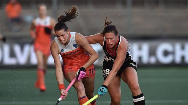 Netherlands v Germany - Women's FIH Field Hockey Pro League