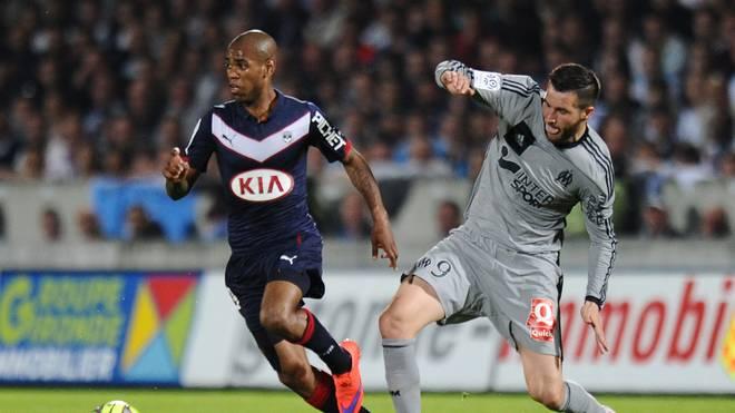 Olympique Marseille um Andre-Pierre Gignac (r.) kassiert die neunte Saisonpleite